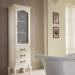 Versailles 128 Lavabo In Vetro Avorio Con Decori Bagno Piu Мебель для ванной фото 4