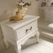 Versailles 128 Lavabo In Vetro Avorio Con Decori Bagno Piu Мебель для ванной фото 3