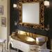 Versailles 128 Lavabo In Vetro Avorio Con Decori Bagno Piu Мебель для ванной фото 1