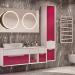 Ventidue Bianco Opaco / Chianti Lucido Bagno Piu Мебель для ванной фото 1