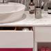 Ventidue Bianco Opaco / Chianti Lucido Bagno Piu Мебель для ванной фото 3