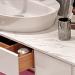 Ventidue Bianco Opaco / Chianti Lucido Bagno Piu Мебель для ванной фото 5