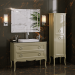 Colonna Moretta 2.0 Cappuccino Lucido Bagno Piu Мебель для ванной фото 3