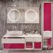 Ventidue Bianco Opaco / Chianti Lucido Bagno Piu Мебель для ванной фото 2