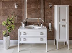 Vintage 122 Bianco Opaco Bagno Piu Мебель для ванной