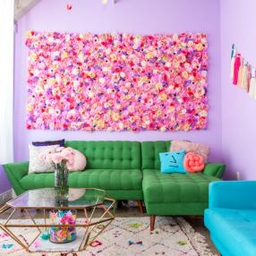 Самая разноцветная квартира в мире