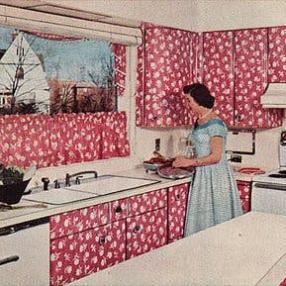 5 винтажных кухонь для вдохновения
