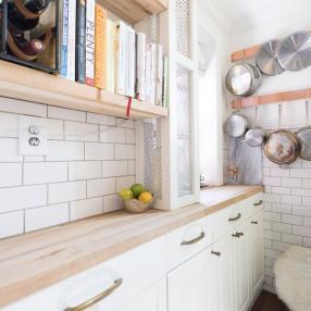Хитрые идеи для маленькой кухни