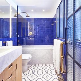 Синие ванные вашей мечты