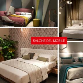 Итальянские мягкие кровати — новинки выставки Salone Del Mobile 2017
