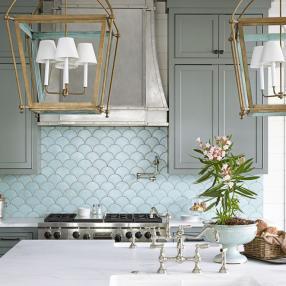 Необычный фартук: как обновить кухню без ремонта