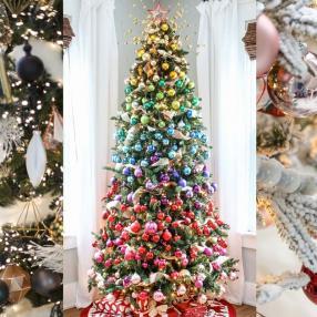 Самые необычные и креативные новогодние елки