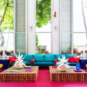 Самый красочный отель на Гавайях