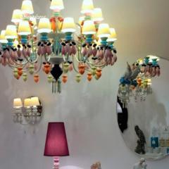 Интересные итальянские светильники на iSaloni в Москве