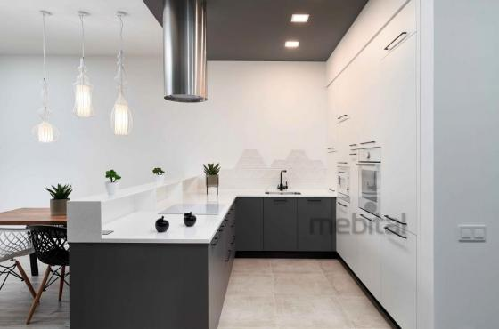 Интерьер кухни в ЖК Spas Sky