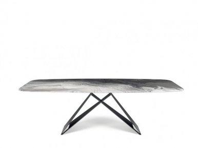Premier Crystalart Cattelan Italia Нераскладной стол