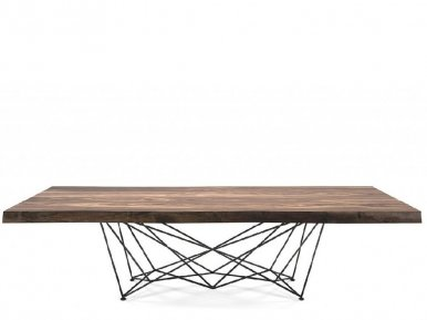 Gordon Deep Wood Cattelan Italia Нераскладной стол