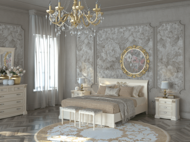 COLOSSEO avorio SAONCELLA Спальня