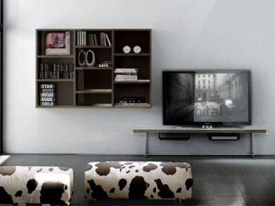 LALTROGIORNO COMP 827 TUMIDEI ТВ-стойка