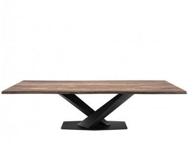 Stratos Wood Cattelan Italia Нераскладной стол