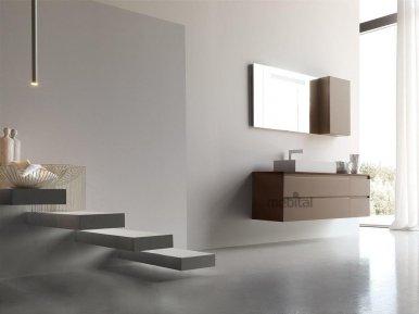 ZERO4 LAMINAM, COMP. 12 Arcom Мебель для ванной