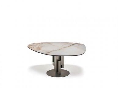 Skyline Keramik Round Cattelan Italia Нераскладной стол