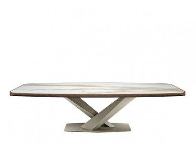 Stratos  Keramik Premium Cattelan Italia Нераскладной стол