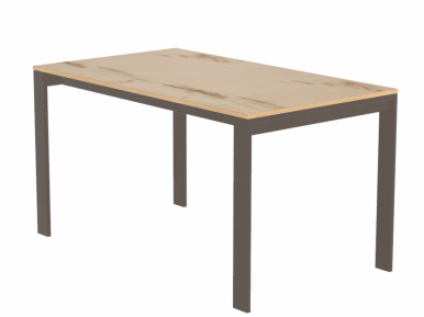 Simple table POINTHOUSE Раскладной стол