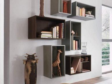 Lampo L5C01 SANGIACOMO Книжный шкаф