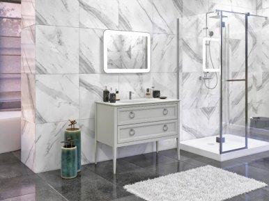Vintage 107 Cemento Opaco Bagno Piu Мебель для ванной