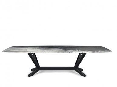 Planer Crystalart Cattelan Italia Нераскладной стол