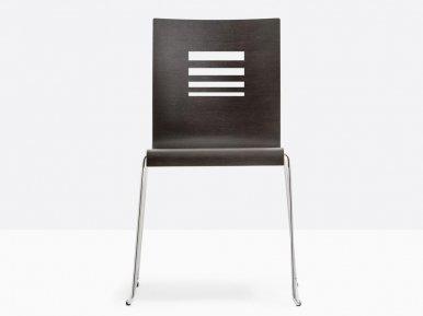 Kuadra 1358 PEDRALI Металлический стул