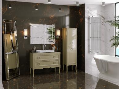 Moretta 2.0 122 Oliva Lucido Bagno Piu Мебель для ванной