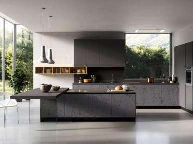 GLASS Arredo3 Итальянская кухня