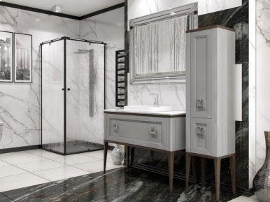 Tribeсa 120 Cemento Opaco Bagno Piu Мебель для ванной