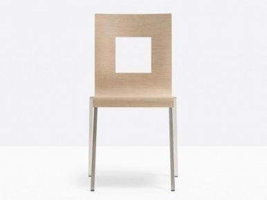 Kuadra 1301 PEDRALI Металлический стул