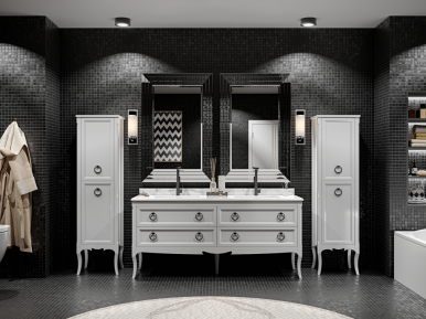 Moretta 2.0 150 D Bianco Opaco Bagno Piu Мебель для ванной