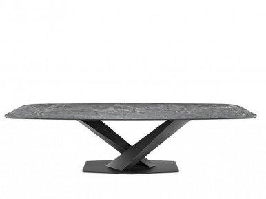 Stratos Keramik Cattelan Italia Нераскладной стол