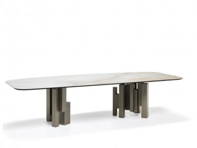 Skyline Keramik Cattelan Italia Нераскладной стол