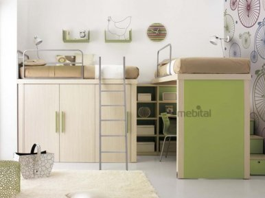 TIRAMOLLA COMP 906 TUMIDEI Мебель для школьников