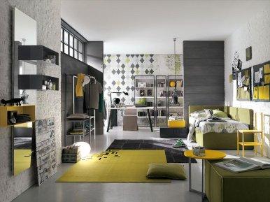 COMP. T19 Gruppo Tomasella Подростковая мебель