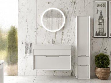 Ventidue Bianco Opaco Bagno Piu Мебель для ванной