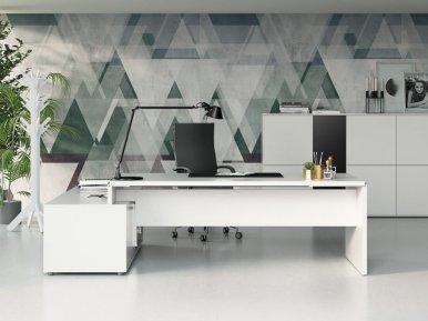 Asset pannellata FREZZA Письменный стол