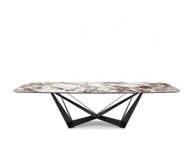 Scorpio Keramik Cattelan Italia Нераскладной стол