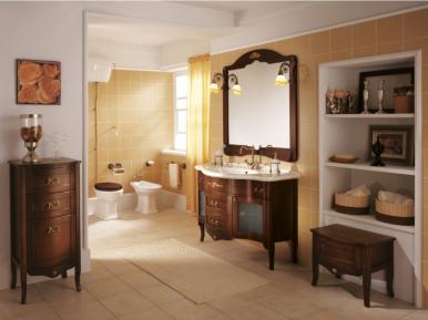 Palladio 110 Noce Opaco Bagno Piu Мебель для ванной