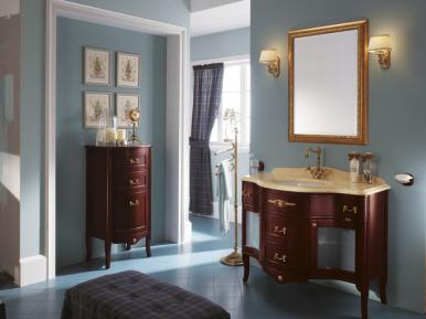 Palladio Palissandro Opaco Bagno Piu Мебель для ванной