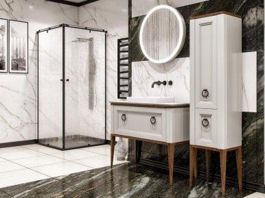 Tribeсa 120 Bianco Opaco Bagno Piu Мебель для ванной
