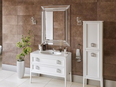 Vintage 96 Bianco Opaco Bagno Piu Мебель для ванной