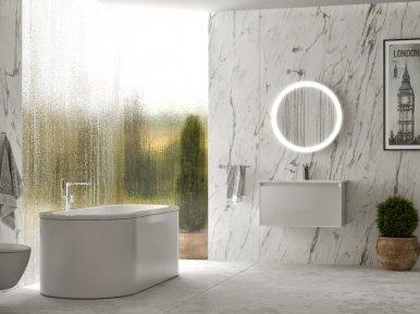Genesis Bianco Lucido Bagno Piu Мебель для ванной
