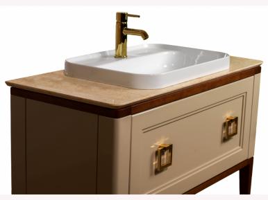 Tribeсa 100 Cappuccino Lucido Bagno Piu Мебель для ванной